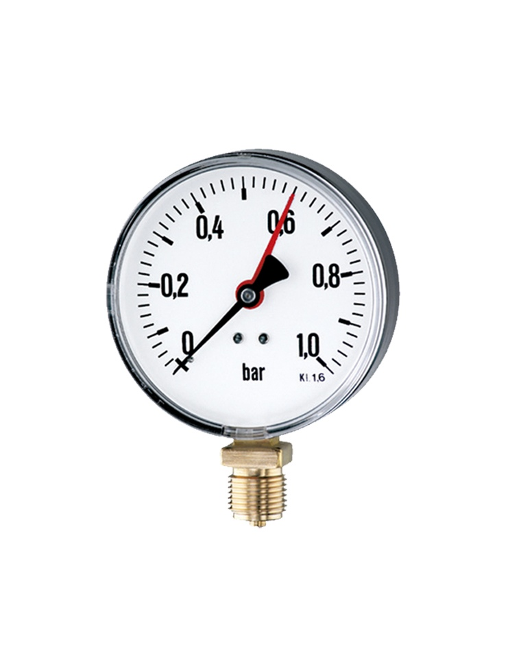 Pressure Measuring Instruments : Bourdon tube pressure gauges product detail