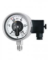 Rohrfeder Manometer mit elekt. Zusatzeinr.  RCh100-3 25bar