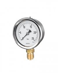 1203 Rohrfeder-Manometer RChg80-1 25bar