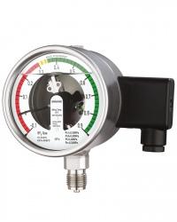 Spezial-Manometer RChgOe100-3 M22 f. SF5 Gas