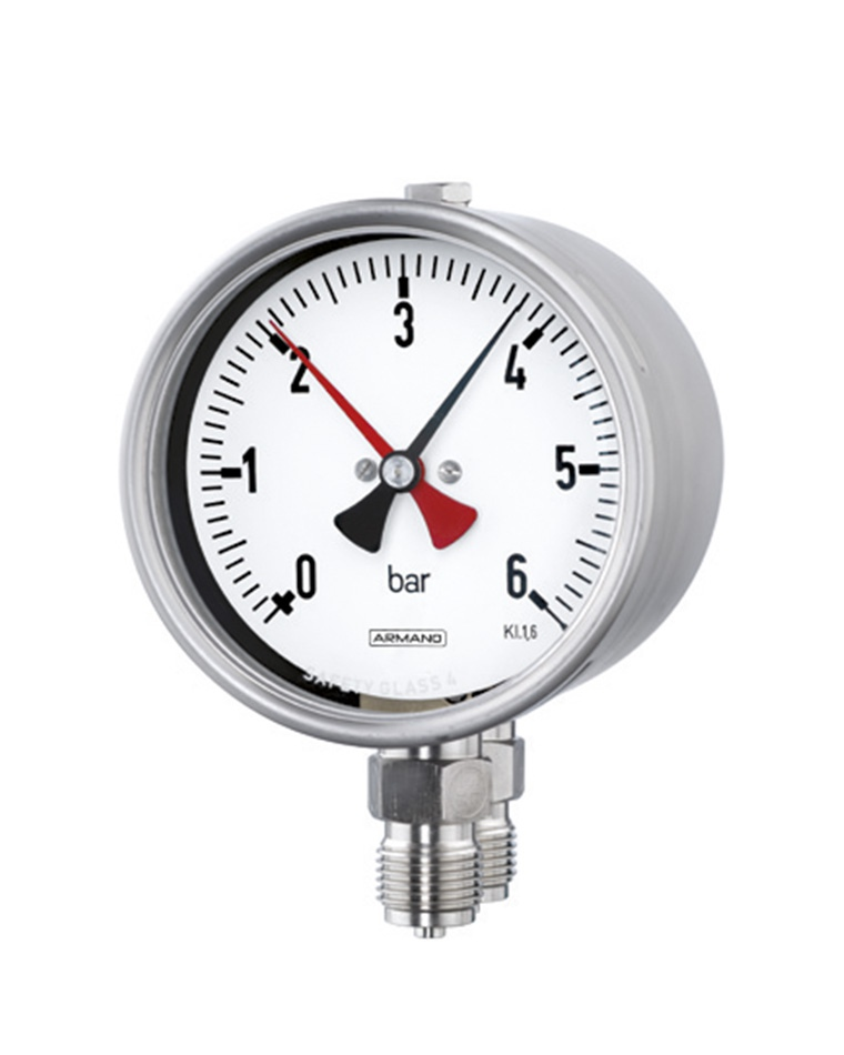 Duplex and Differential Pressure Gauges (DRCh / DRChG)