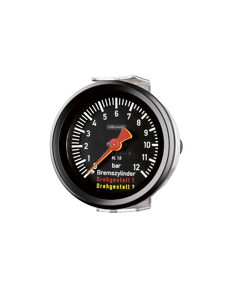 Combi gauges (DRg...Fz / DRChg...Fz) for rail cars with two measuring units