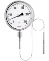 8221 Gas-actuated thermometers TFCh 160 with capillary line bayonet ring case stainless steel ARMANO