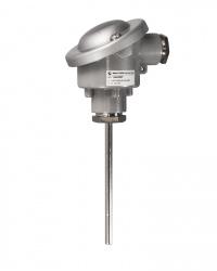 8510 TPtMiA Widerstandsthermometer Mineralisolierter Fühler ohne Schutzrohr Zum Einstecken oder zum Einbau in den Prozess mit Klemmverschraunung Messbereich -200 / +600 °C