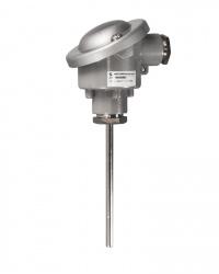 8610 TTeMiA Mineralisolierter Fühler ohne Schutzrohr zum Einstecken oder zum Einbau in den Prozess mit Klemmverschraubung Messbereich bis 1175 °C