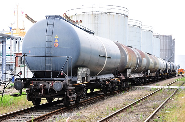 Fields of application Pressure measurement on railway tank wagons