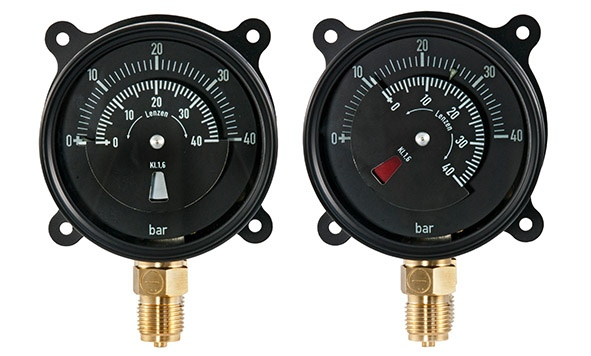 Differential pressure gauge DiRCh 100 – 1 Rh