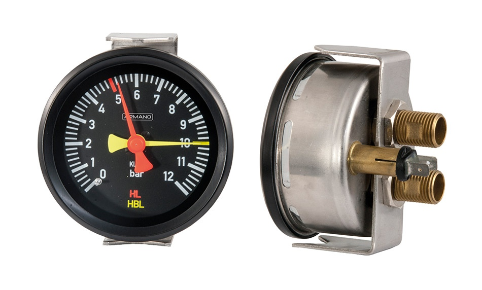 Differential pressure gauge DRChg 80-1 Fz rmBFr