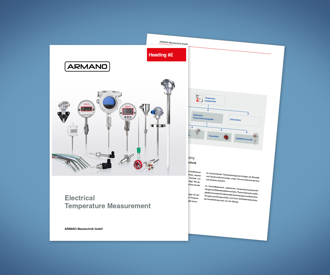 Brochure electrical temperature measurement