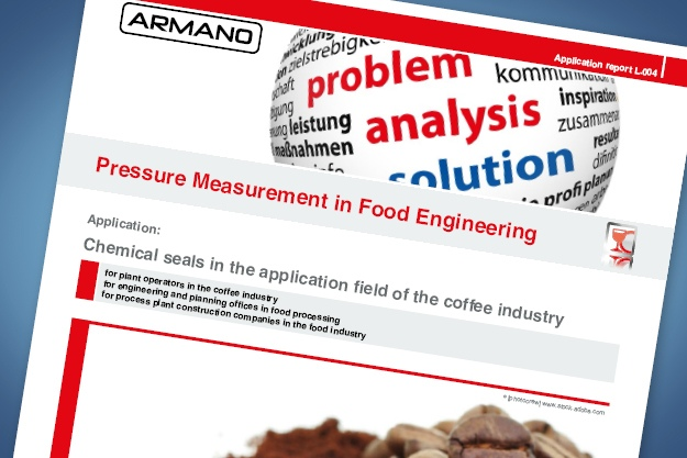 Application report food industry