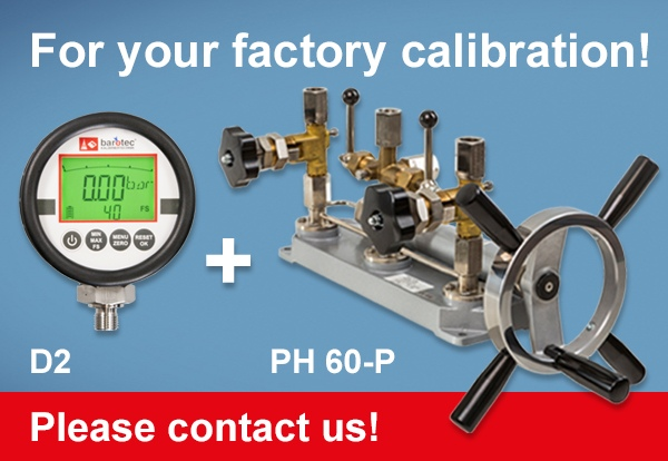 factory calibration D2 PH 60-P en