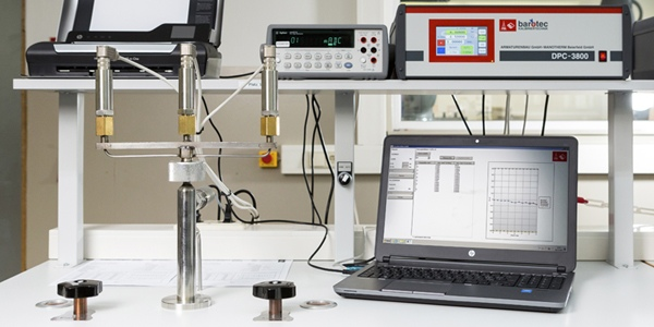 Software DynaCal Calibration technology pressure Armaturenbau Manotherm